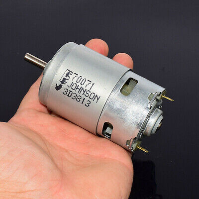 JOHNSON RS-775 Electric Motor DC 12V 18500RPM High Speed High Power Large Torque
