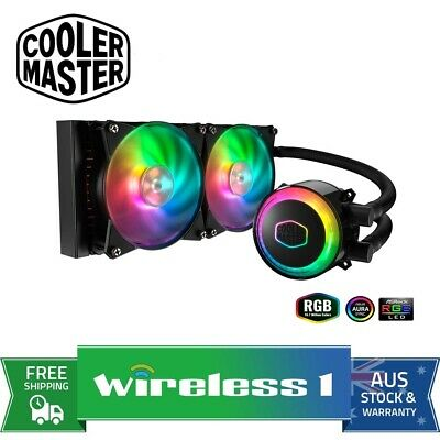 Cooler Master MasterLiquid ML240R 240 Addressable RGB CPU Liquid Cooler