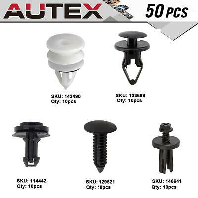 100pcs Door Panel Clips Retainer Fastener for 2014-2015 Cadillac ATS CTS DTS SRX