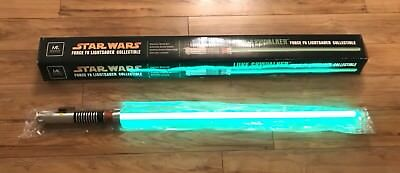 MASTER REPLICAS STAR WARS FORCE FX LIGHTSABER Luke Skywalker Green EP 6 ROTJ