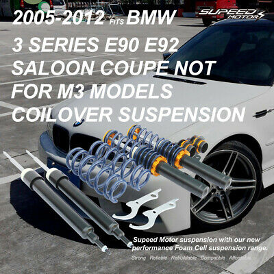 COILOVER SUSPENSION FIT 2005-12 BMW 3 Series E90-E92 Saloon Coupe Not M3 Models