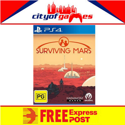 Surviving Mars PS4 Game New & Sealed Free Express Post In Stock