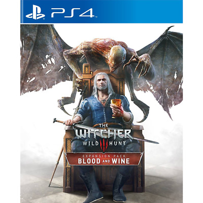Witcher 3 Wild Hunt Blood And Wine Expansion Sony Ps4 Psn English Pal Uk