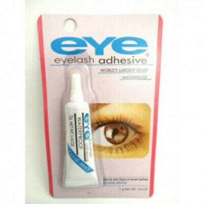 Colle faux cils waterproof invisible maquillage yeux longue tenue faux-cils