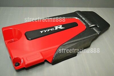 Civic FC FK 1.5L Turbo Carbon Look Type R Engine Head Cover Protector 2016-2019