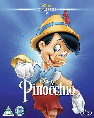 PINOCCHIO BLURAY Disney O Ring Version Limited Edition Pinnochio Sealed Uk New
