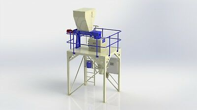 Open top bag Nett weigher with twin auger feeders