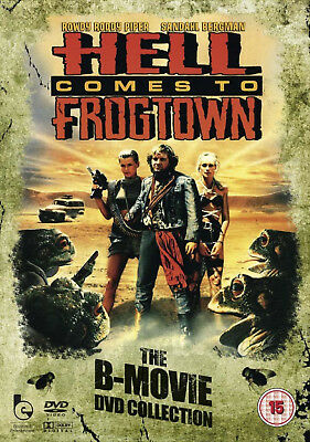 HELL COMES TO FROGTOWN DVD Roddy Piper Julius LeFlore UK Release New Sealed R2