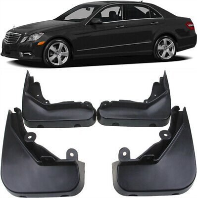 OEM Splash Guards Mud Guards Flaps For 2009-2013 Mercedes Benz S Class W221 V221