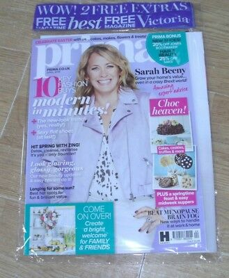 Prima magazine APR 2018 Sarah Beeny, Key Fashion Buys, Beat Menopause & more