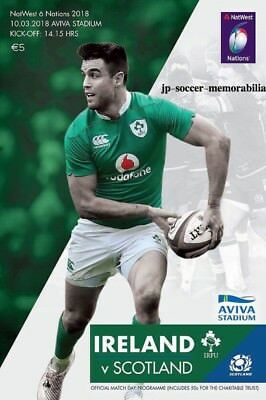 Ireland v Scotland -  Rugby Union 6 (Six) Nations - 10 March 2018 - In Stock Now