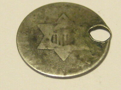 No Date Three Cent Silver Hole