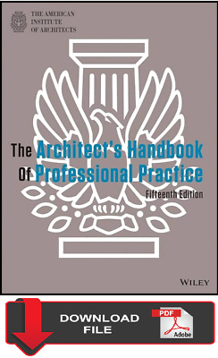 The Architect's Handbook of Professional Practice by American Institute PDF ONLY