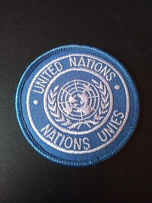 Patch  UNITED NATIONS /  NATIONS UNIES