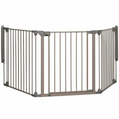 Safety 1st Baby Pet Safety Gate Door Modular 3 3 Panels Grey 82-214 cm 24226580