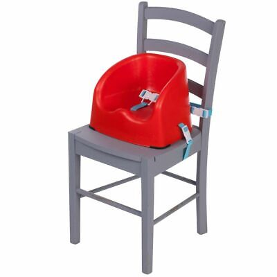 Safety 1st Baby Child Essential High Chair Booster Seat Red Lines Red 2776260000