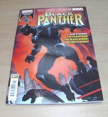 The Mighty World of Marvel #19 4th APR 2018 Black Panther