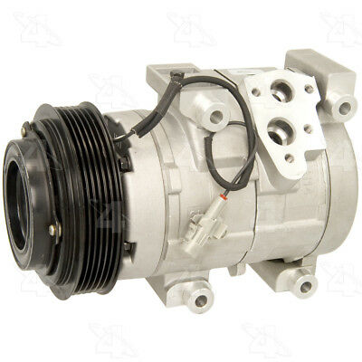 A//C Aftermarket Compressor and clutch 68646 or Equivalent New Four Seasons