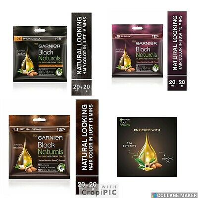 Permanent Ready To Use Hair Dye By Godrej No Nasty Smells/No Ammonia  All Colors