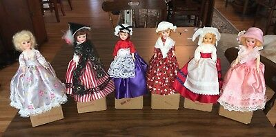 """1960's Vintage American """"Dolls Of The World"""" - 6 American Women Heros $25 ALL"""