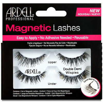 6742103f8c1 ARDELL PROFESSIONAL MAGNETIC Lashes: Double Demi Wispies, Black ...