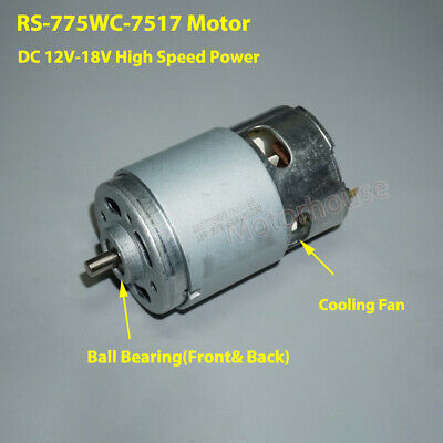 DC 12V 18V 24500RPM High Speed Power Large Torque RS-735 Electric Drill Motor