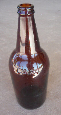 Coors Quart Beer Bottle with embossed Logo