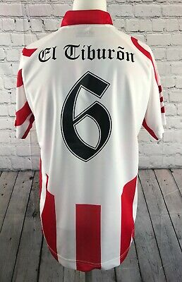 Club Atletico River Plate Football Shirt Lotto Home Kit # 6 Size M