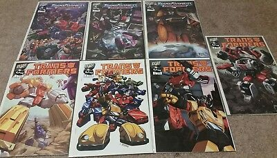 Transformers DW comic book lot of 7