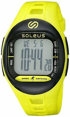 Soleus Tempo Water Resistant Fitness Activity Tracker - Lime/Black