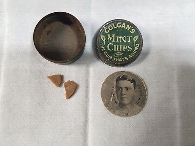 1909 - 1911 E254 Colgan's Chips McCORMICK(NEW YORK Nat'l.L) Can And Gum Included