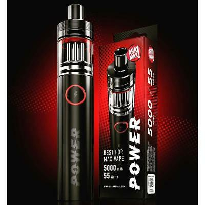 Genuine Aramax Power Vape Kit 5000mah Battery All in One E-cigarette