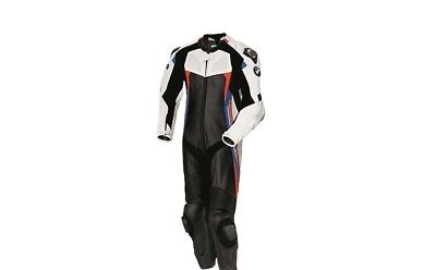 BMW Motorcycle Leather Suit Motorbike Leather Jacket  Racing Leather Trouser Men