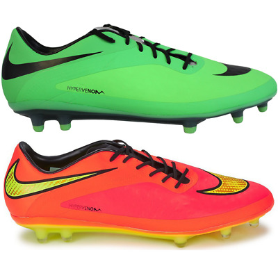 online store b6675 7be14 NIKE HYPERVENOM PHATAL FG Football Soccer Boots Shoes green pink 599075 303  690