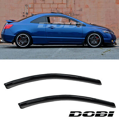 JDM Vent Window Visor 2pc Fit Hyundai Accent 00-03 04 05 2000-2005 2 Door GL GT