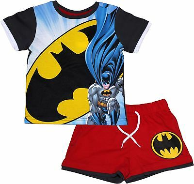 Batman Childrens Cape Short Sleeve Pyjama Set  - Spring Summer Collection