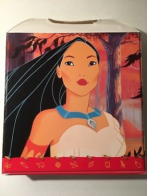 RARE! 6 Disney Read Along Books with Audio Cassettes, Pocahontas Carrying Case