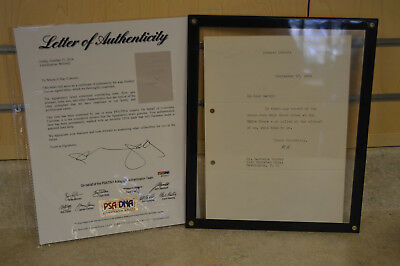 Herbert Hoover Autographed Signed Letter PSA/DNA Certified 1934  *LOOK*