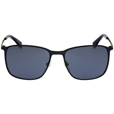 Lacoste Metal Frame Blue Lens Men's Sunglasses L178S424