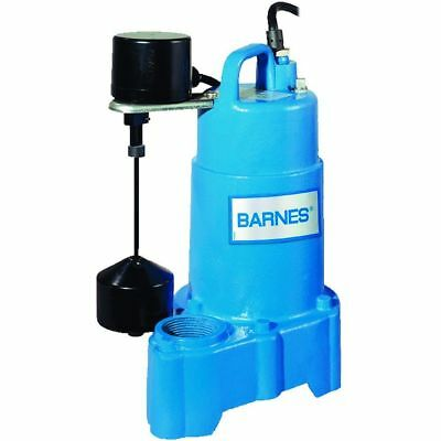 Barnes 1/3 HP Effluent Sump Pump SP33VF