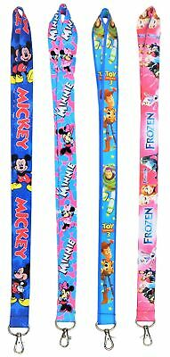 Family Pack of 4 Lanyards with 40 Assorted Disney Trading Pins ~ Brand NEW