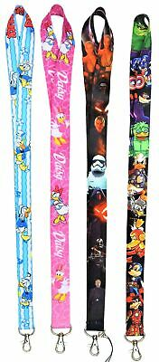 Family Pack of 4 Lanyards with 40 Assorted Disney Park Trading Pins ~ Brand NEW