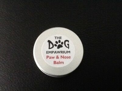 Dog Paw and Nose Balm, 50ml Tin, Homemade with natural ingredients.