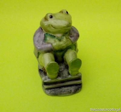 "Beatrix Potter ""Mr Jackson"" Frog Figurine Beswick 1st Version 1974 BP3A"