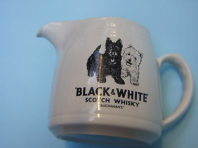 ''buchanan's ''black & White Scotch Whisky Jug Burleigh Ware