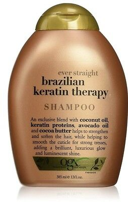 OGX Brazilian Keratin Smooth Ever Straightening Shampoo13oz/ 385 ml