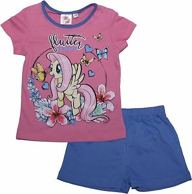 My Little Pony Friendship Magic Short Sleeve Pyjama Set - Summer Collection