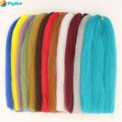 Synthetic EP Silky Fibers 3D Soft Fluffy Fibre Minnow Water Shed Fly Fishing