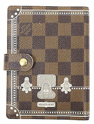 LOUIS VUITTON Damier Agenda PM Day Planner Cover LV Print