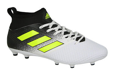 cc1138ca4b1 Adidas Ace 17.3 Fg Soccer Cleats Boots White Solar Yellow By2196 Mens Size 8